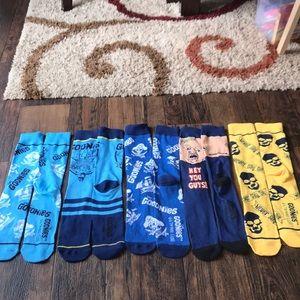 Set of 5 Goonies socks
